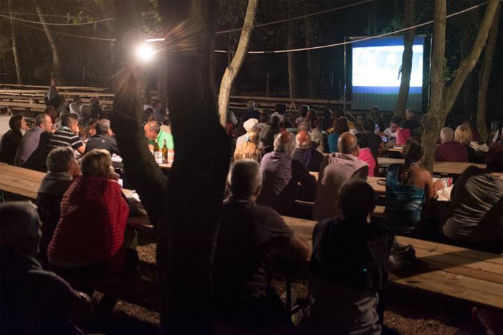 Cinema all'aperto: Faber in Sardegna