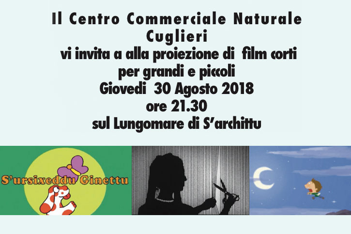 Cinema all'aperto: film a S'archittu