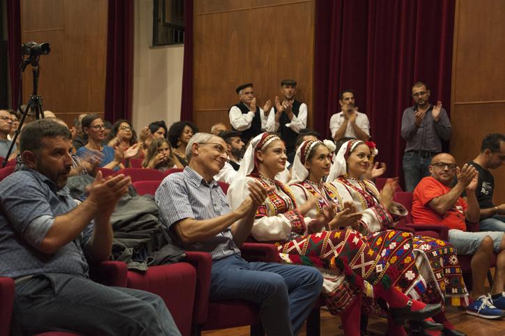 Prima edizione del Festival Internazionale di Canti tradizionali MONDI comuni CANTI, concerto a Cuglieri